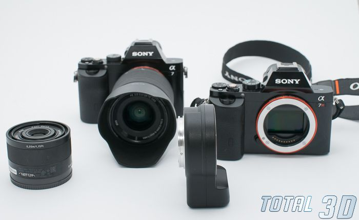 Sony A7 + FE 28-70mm F3.5-5.6 OSS, Sony A7R, LA-EA4, объектив FE 35mm F2.8 ZA