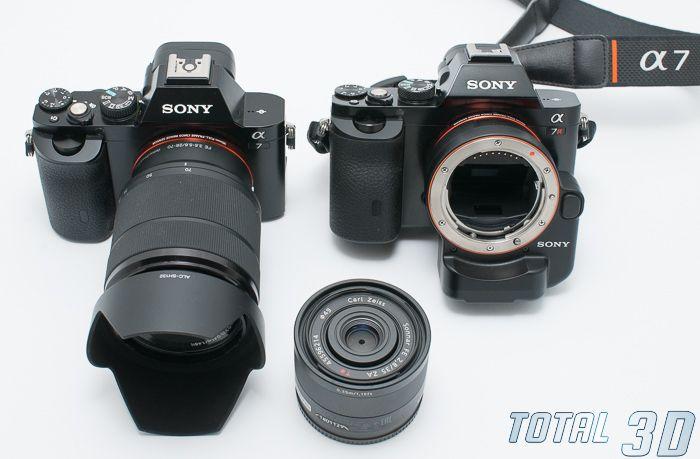 Sony A7 + FE 28-70mm F3.5-5.6 OSS, Sony A7R + LA-EA4, объектив FE 35mm F2.8 ZA