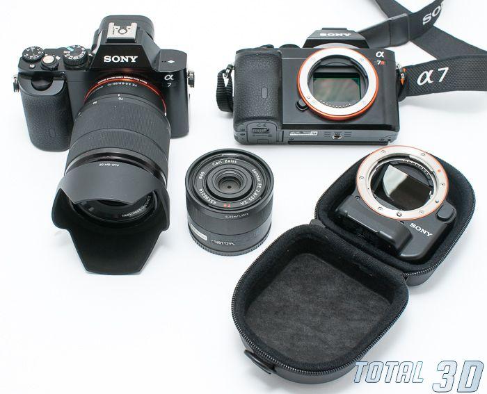 Sony A7 + FE 28-70mm F3.5-5.6 OSS, Sony A7R, LA-EA4 в футляре, объектив FE 35mm F2.8 ZA