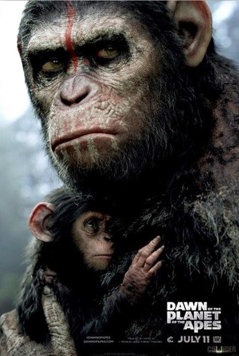 «Планета обезьян: Революция» (Dawn of the Planet of the Apes): новое видео и постер к 3D-экшену