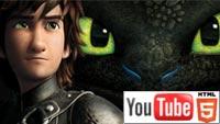 «Как приручить дракона 2»: YouTube 3D-ролик к стереомультфильму