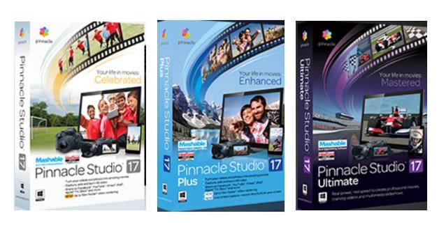 Pinnacle Studio 17 Standard, Plus и Ultimate