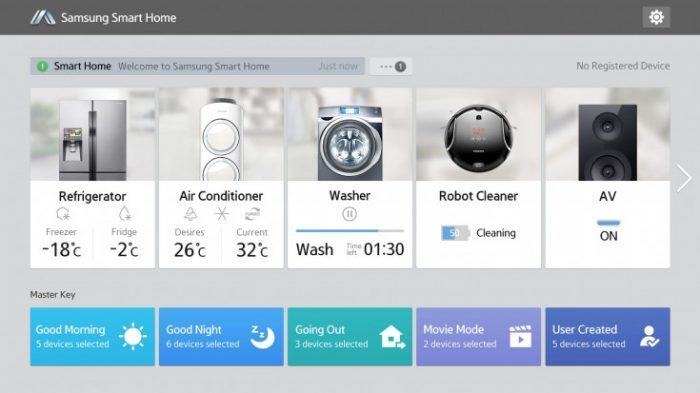 «Умный дом» от Samsung : сервис Smart Home официально запущен