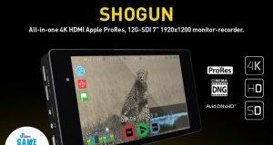 Внешний 4K/HDMI монитор-рекордер Atomos Shogun с 7-дюймовым сенсорным экраном
