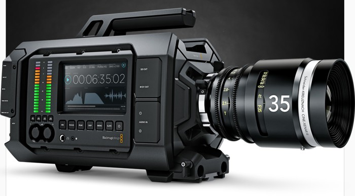 Blackmagic URSA: профессиональная модульная 4K-камера по цене менее $6000