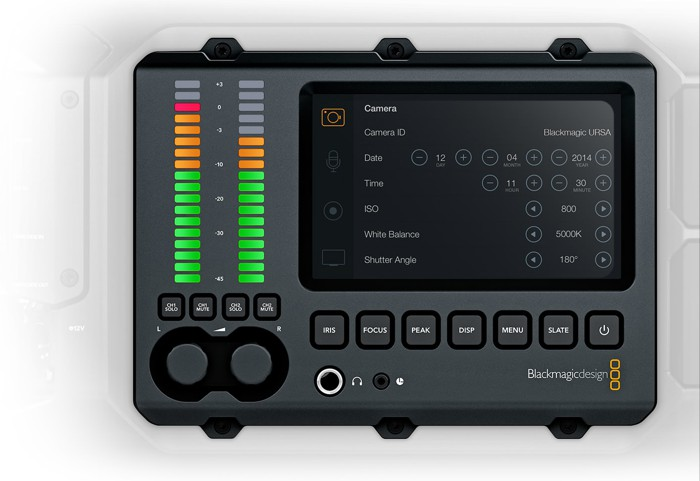 Blackmagic URSA: профессиональная модульная 4K-камера