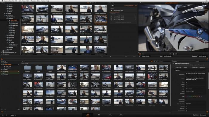 Редактор видео Blackmagic DaVinci Resolve: 11 версия уже в июне