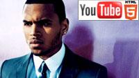Крис Браун «Don't Wake Me Up»: трёхмерный клип на YouTube 3D
