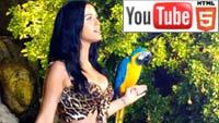 Кэти Перри на YouTube: несколько трёхмерных клипов