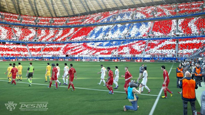 Футбольный симулятор Pro Evolution Soccer 2014: геймплей-ролик на YouTube 3D