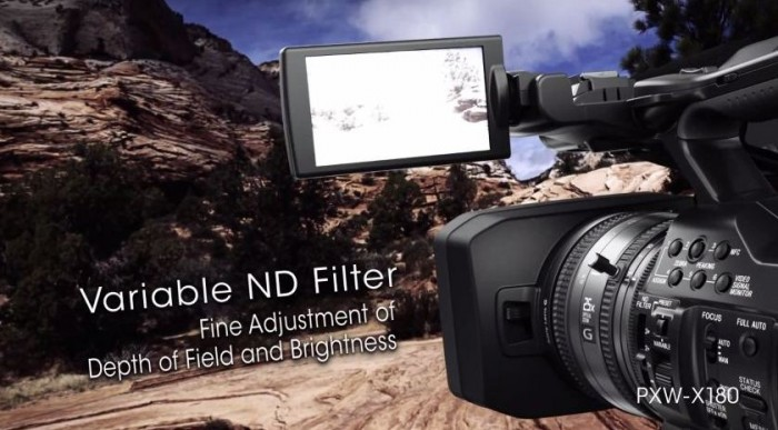 Профессиональная видеокамера Sony XDCAM PXW-X180: скоро на рынке