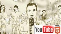 YouTube стерео 3D: музыкальный клип The Simple Carnival «A Geek Like Me»