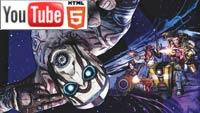 YouTube 3D 4K: анонс шутера Borderlands: The Pre-Sequel