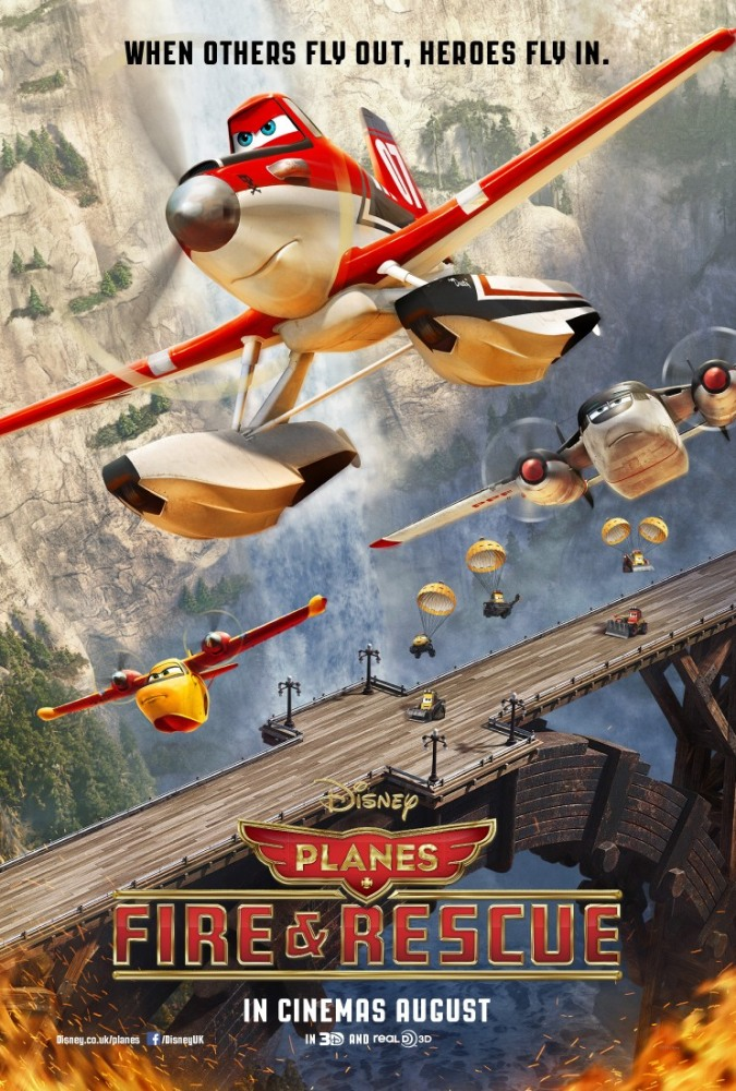 Мультфільм Літаки : Вогонь і вода (2014) дивитися онлайн / Мультфильм Самолеты: Огонь и вода (2014) смотреть онлайн