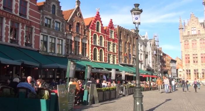 Виртуальная прогулка по Бельгии на YouTube 3D
