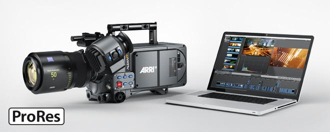 ARRI ALEXA XR/XT будут поддерживать кодек ProRes 4444 XQ