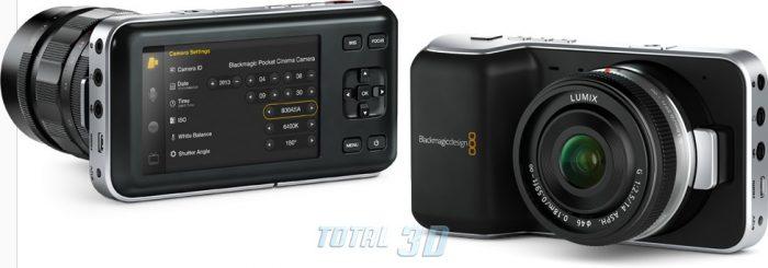Цифровая камера Blackmagic Pocket Cinema Camera