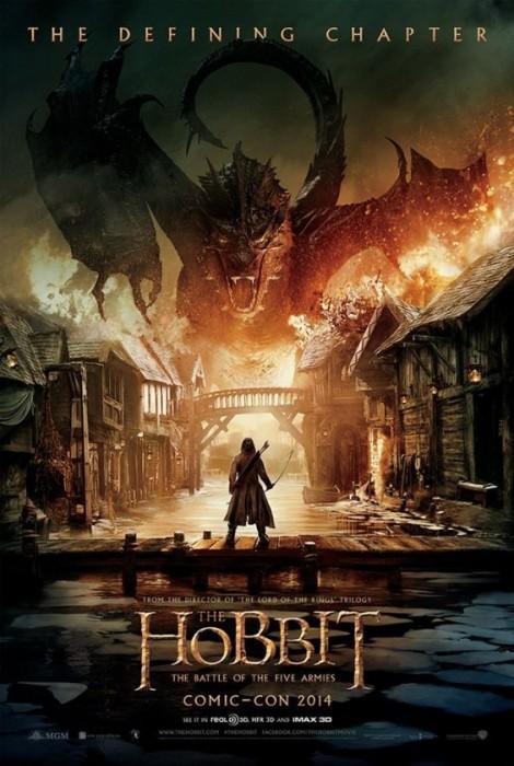 «Хоббит: Битва пяти воинств»: кадры, постеры и первый тизер-трейлер