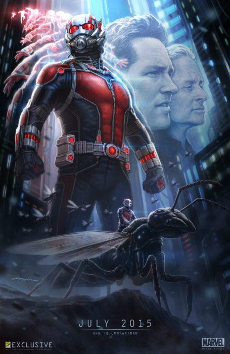 """Человек-муравей"" (Ant-man): подробности и постер"