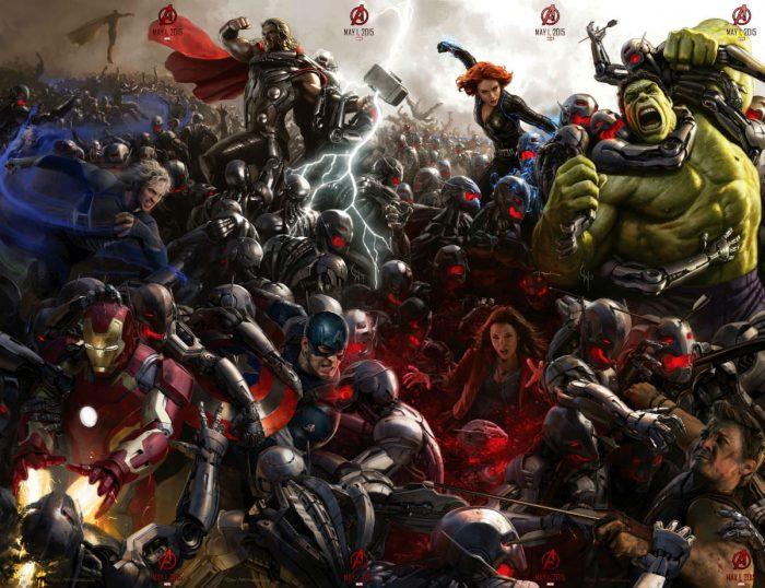 Мстители: Эра Альтрона в 3D: восемь новых концепт-артов