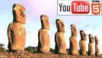 YouTube стерео 3D: прогулка по острову Пасхи