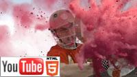 YouTube 3D: парочка спортивных демо-роликов от LG