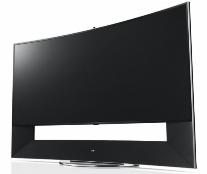 Телевизор LG 105UC9 представленный на выставке CES 2014