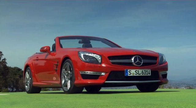 Трёхмерные обзоры Mercedes-Benz на YouTube 3D