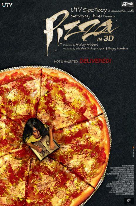"""Индийский ужастик """"Пицца 3D"""": постеры, трейлер, подробности"""