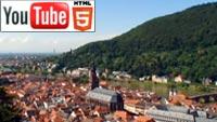 Летний Хайдельберг (Германия) на YouTube в стерео 3D
