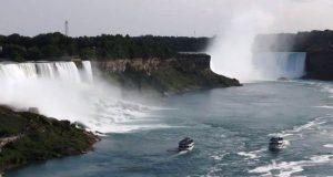 Ниагарский водопад на YouTube стерео 3D