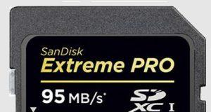 512-Гбайт SDXC карта SanDisk Extreme PRO