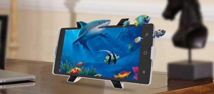 Takee 1 – первый в мире голографический смартфон