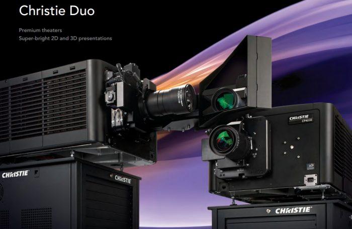 Лазерные проекционные 6P системы Christie Duo
