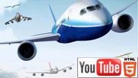 Легенды о полете 3D: легендарный фильм на YouTube 3D