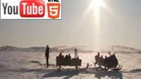 YouTube стерео 3D: магия северного сияния в трёх измерениях