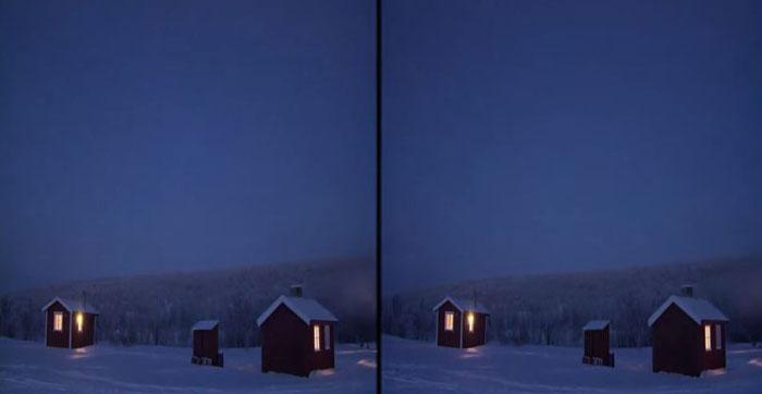 The Elemental Project. The Northern Lights 3D: магия северного сияния на YouTube стерео 3D