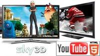 Sky 3D: подборка рекламных роликов о фильмах на YouTube 3D