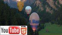 YouTube стерео 3D: на воздушном шаре – в трёх измерениях