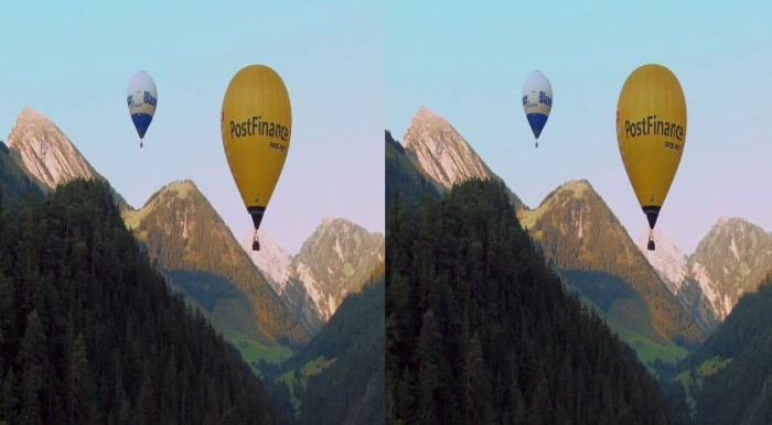 YouTube 3D: на воздушном шаре – в стерео 3D