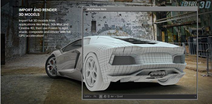 Blackmagic Fusion 7 под Windows