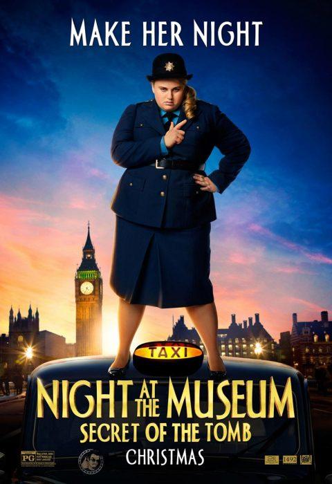 Ребел Уилсон (Rebel Wilson) в 3D-комедии «Ночь в музее: Секрет гробницы» (Night at the Museum: Secret of the Tomb)