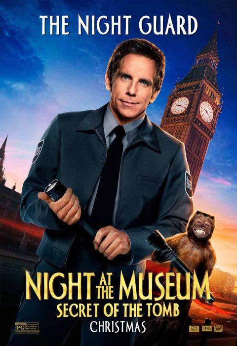 Бен Стиллер (Ben Stiller) в 3D-комедии «Ночь в музее: Секрет гробницы» (Night at the Museum: Secret of the Tomb)