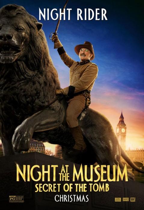 Робин Уильямс (Robin Williams) в роли Теодора Рузвельта (Teddy Roosevelt)