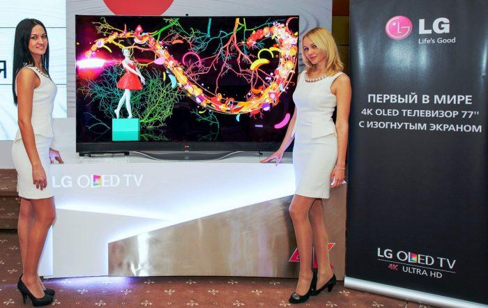 77-дюймовый OLED UltraHD/4K-телевизор LG 77EC980V