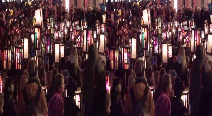 День святого Мартина в Бонне: праздник фонарей на YouTube 3D