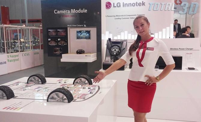 """Стерео-камеры LG 6D Vision установят в """"умные"""" автомобили Mercedes-Benz"""