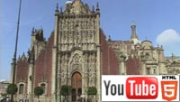 YouTube: стерео 3D-прогулка по Мехико