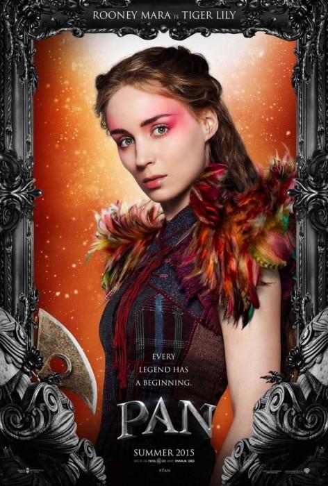Пэн (Pan) в 3D: первые постеры и трейлер к сказочной киноленте
