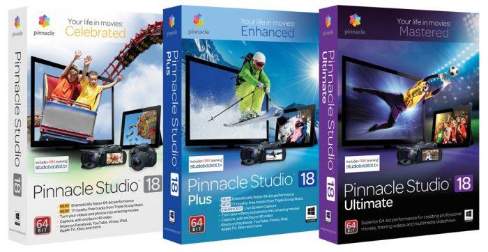 Corel Pinnacle Studio 18: отныне с поддержкой 4K/Ultra HD